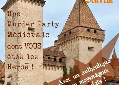 Intrigues au Château de La Sarraz   14 mai 2016
